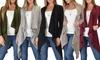 Lyss Loo Cozy Sweater Cardigan: Lyss Loo Women's Cozy Sweater Cardigan