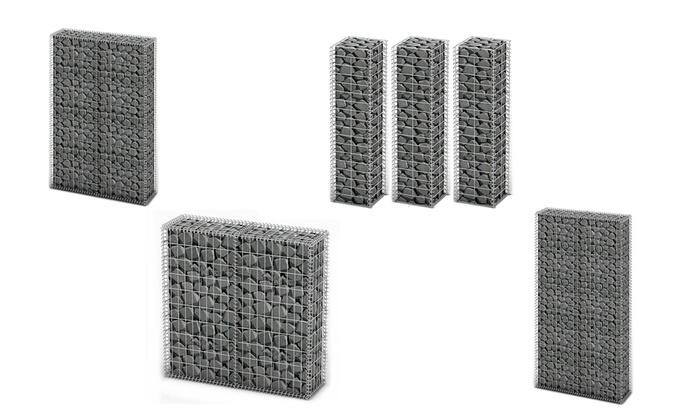 Kit de mur en gabion au choix   Groupon Shopping 0f6b045e5388