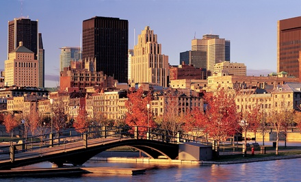 1 or 2-Night Stay for Two w/ Chocolate Fondue, Sparkling Wine and Spa Credit at Marriott SpringHill Suites Old Montreal