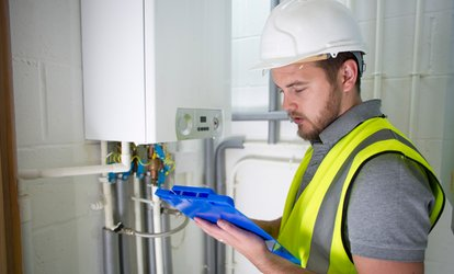 image for Boiler Service with 1-Gas Plumbing & Heating (51% Off)