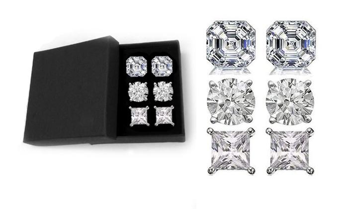 c21b3b02d5c9d Square Swarovski Crystal Earrings - Best All Earring Photos ...