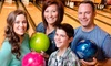 Peak Bowl - Northeast Colorado Springs: 2 Games of Bowling, Shoe Rentals, and a Pitcher of Soda for 2, 4, or 6 People at Peak Bowl (Up to 36% Off)