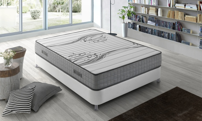 matelas boston m moire forme groupon. Black Bedroom Furniture Sets. Home Design Ideas