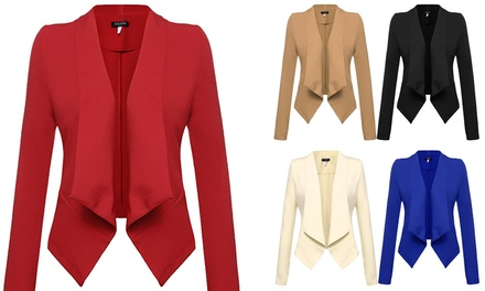 $25 for an Open Front Blazer Don't Pay $69.95