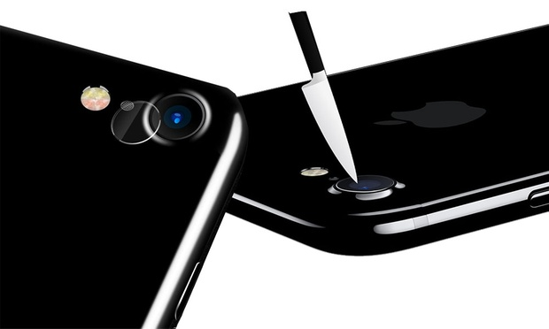 Tempered Glass Camera Lens Protectors for iPhone 7/7 Plus/8/8 Plus or X: Two ($9) or Four ($14)