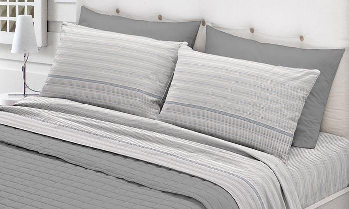 Completo letto flanella