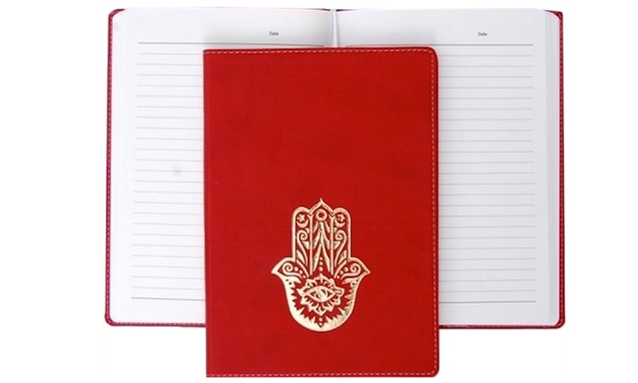 Red Journal with Plain or Embossed Cover: Red Journal with Plain or Embossed Cover
