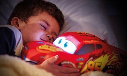 Peluche Veilleuse 2 en 1 Disney Cars ou Spiderman