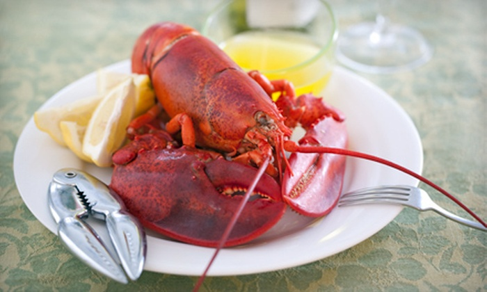 Lobster Bake for Two, or 4, 6, 8, or 10 Live Lobsters from GetMaineLobster.com (Up to 55% Off)