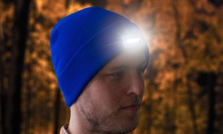 Gorra de invierno con 5 luces LED por 9,99 €