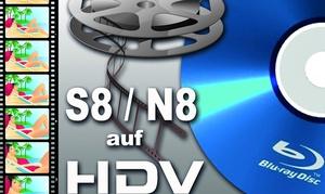 Fotoservice Blotzheim: Digitalisierung von Schmalfilmen in HD (Formate Super 8 und Normal) bei Fotoservice Blotzheim (bis zu 75% sparen*)