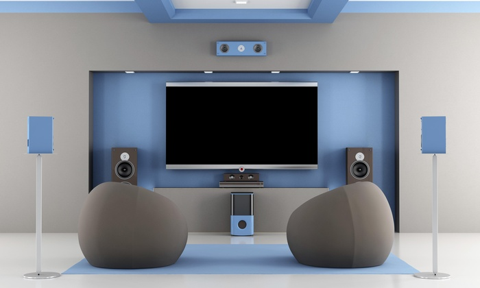 Tech Zone Pro, Llc - Palm Beach: Home-Theater Installation with 5.1 Speaker System from Tech Zone Pro (45% Off)
