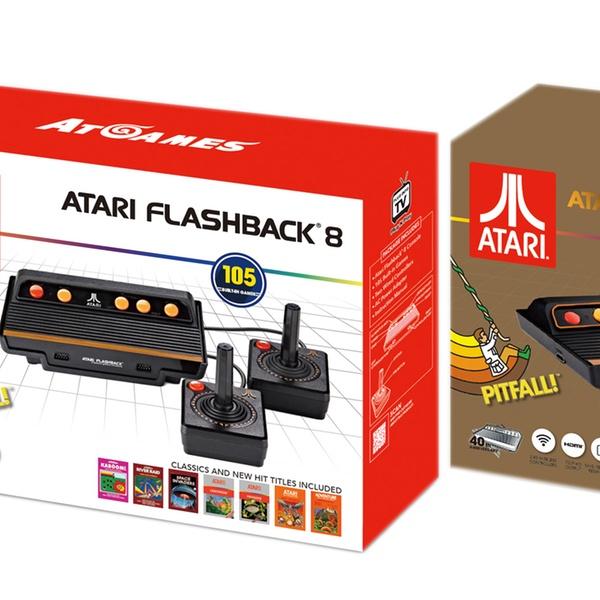 Atari Flashback 8 Plug And Play Console Classic Or Hdmi Gold Edition
