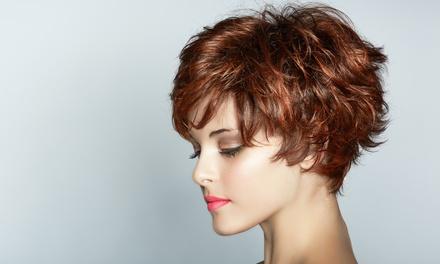 Style Cut, Blow-Dry & Treatment ($45) + Full Colour ($79) or Half- ($89) or Full-Head Foils ($119) at Jm Hair Creations