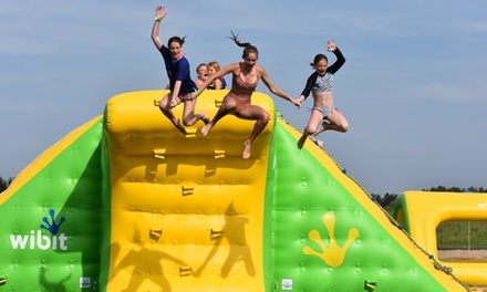 Inflatable Waterpark Admission for Two, Four, or Six People to Oasis Campground And Waterpark (Up to 42% Off)