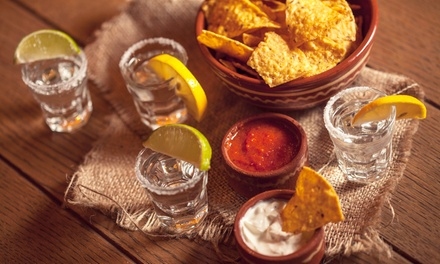 Tequila Tasting, Chips and Guac for Two ($29), Four ($55) or Six People ($89) at Escondidos Mexican (Up to $174 Value)
