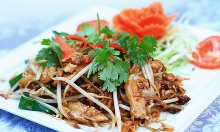 Thais driegangendiner à la carte bij Hua Hin Thai Restaurant in Kralingen vanaf 2 personen