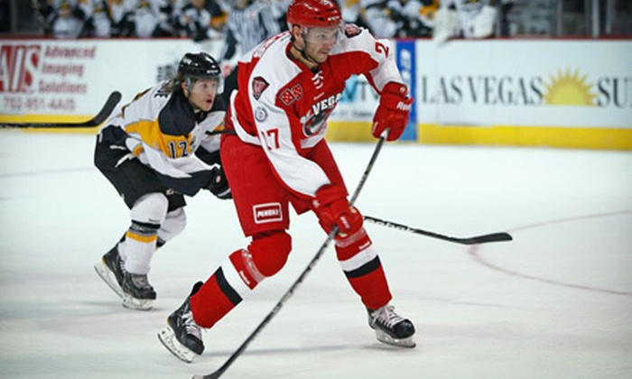 Las Vegas Wranglers - Paradise: $21 for a Las Vegas Wranglers Hockey Game and a $10 Merchandise Credit at Orleans Arena on January 1 or 2 ($42.50 Value)