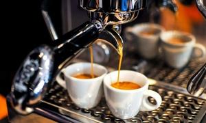 """מקינטה - מוצרי קפה: """"מקינטה"""" בכצנלסון - אספרסו בר ומרכז קפה: מארז עוגיות + אייס קפה גדול 10 ₪ או 50 ₪ לגרופון בשווי 100 ₪ לרכישת פולי קפה"""