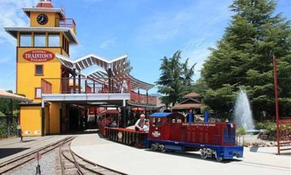 image for $39 for Four Train and Eight Ride Tickets at TrainTown ($57 Value)