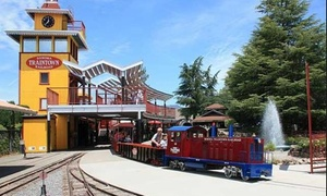 25% Off Four Train and Eight Ride Tickets at TrainTown  at Sonoma TrainTown Railroad, plus 6.0% Cash Back from Ebates.