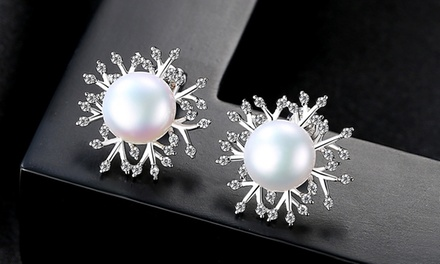 Orecchini di perle Van amstel