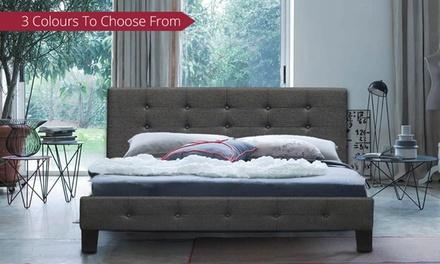 Scandinavian-Inspired Bed Frame - Double ($179), Queen ($199), or King ($219)