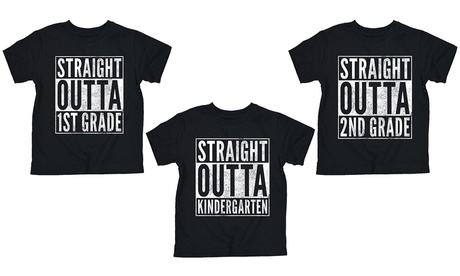 Youth's Straight Outta School Tees