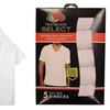 Fruit of the Loom Select Men's Cotton V-Neck Undershirts (5-Pack)