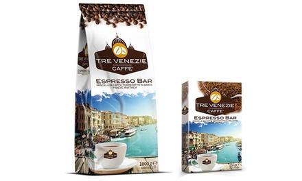 Caffè Tre Venezie grani o macinato