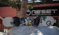 1, 2 o 3 días de alquiler de equipo de esquí o snowboard para 1 o 2 personas desde 9,95 € en Reset Sierra Nevada