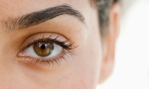 Grace Hair and Beauty Salon: Brow Threading: with Shape $11, or with Brow & Lash Tint $30 at Grace Hair & Beauty Salon, 7 Locations (Up to $45 Value)