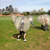 Football Zorbing For Eight