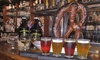 Canterburys Oyster Bar & Grill - Oyster Bay: Flight with Food and Growler for Two or Four at Canterburys Oyster Bar & Grill (Up to 60% Off)