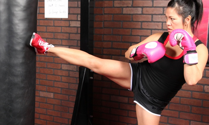 9Round - Longmont - Longmont: 10 or 20 Days of Kickboxing Circuit Training for One or Two with Consultation at9Round(Up to60% Off)