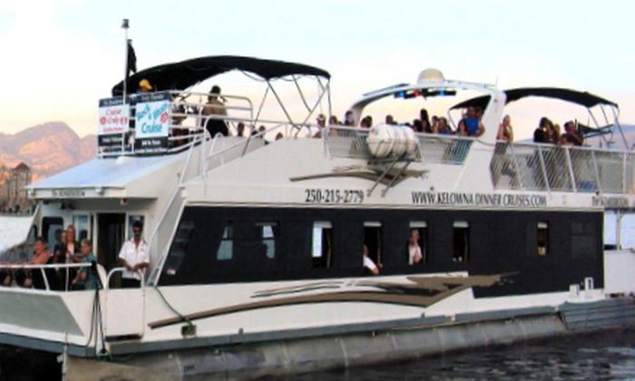 Kelowna Dinner Cruises - Kelowna: Game-Show Cruise for Two or Four from Kelowna Dinner Cruises (Up to 51% Off)