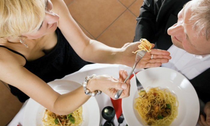 Dishes Bistro & Grill - Marina: $20 for $40 Worth of Italian Dinner for Two at Dishes Bistro & Grill