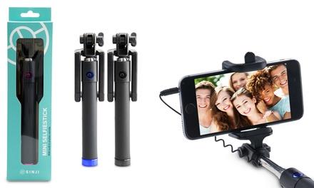 1 o 2 mini palos para selfie Senji en dos colores a elegir desde 5,90 € (hasta 73% de descuento)