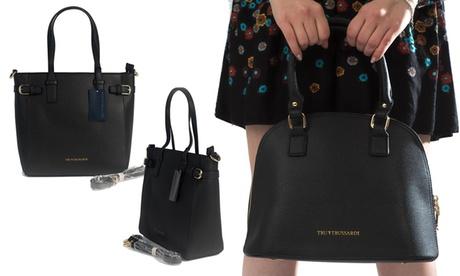 Borsa in pelle Tru Trussardi nere disponibile in vari modelli e colori
