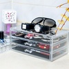 Acrylic 3-Drawer Organizer Tabletop Cosmetics Box