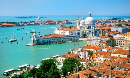 ✈ Rome and Venice or Venice and Florence: 4 or 6 Nights with Flights and Train Transfers*