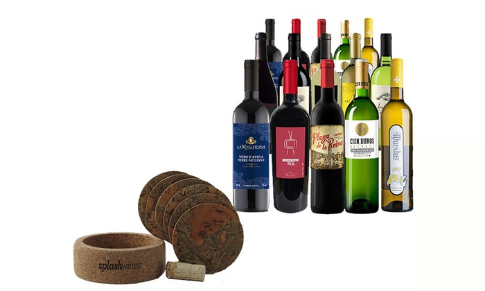 Until Next Time Wines: 15 Bottles of Wine Package and Coaster Set (75% Off)