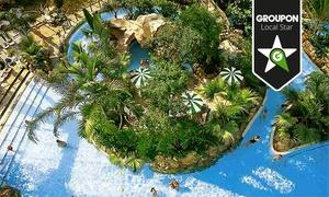 Aqua Mundo Bispinger Heide: Eintritt für Zwei oder Familienkarte für die tropische Wasserwelt Aqua Mundo im Center Parcs Bispinger Heide