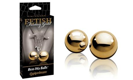 Fetish Fantasy Gold Ben Wa Balls 827ceda6-6339-11e7-8229-002590604002