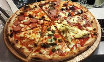 Menu con pizza o calzone a scelta, dolce e birra artigianale per 2 persone al ristorante La Bizza (sconto fino a 53%)