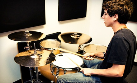 Four or Six Private Drum Lessons at The Drum Lab in Rocklin (Up to 76% Off)