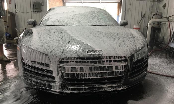 Interior And Exterior Car Wash Gray Biji Us