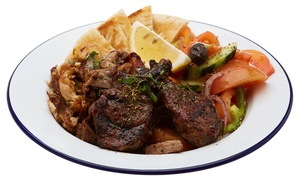 Alpha Greek Street Food: $15 for $30 or $30 for $60 to Spend on Food at Alpha Greek Street Food