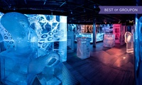 Three-Course Meal and Icebar Experience with Champagne or Cocktail for Up to Six at ICEBAR London (Up to 31% Off)