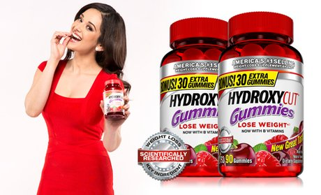 Hydroxycut Dietary Supplement Gummies (2-Pack)
